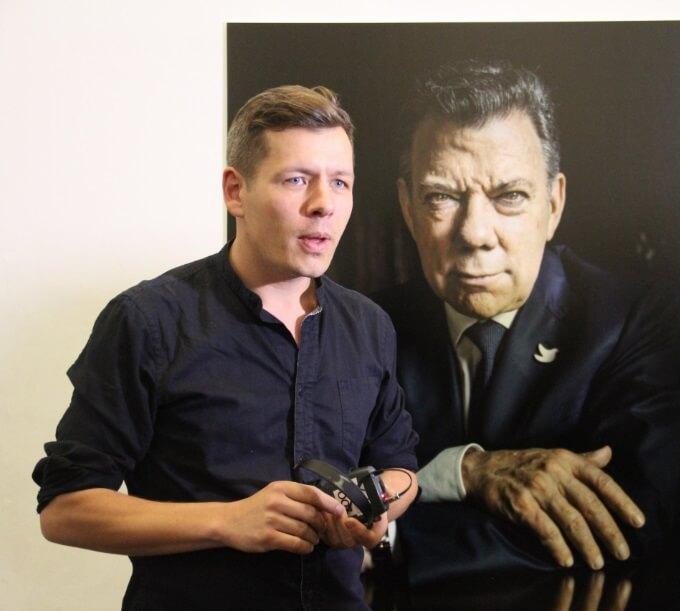'En Colombia fui testigo del miedo al fin de la guerra'