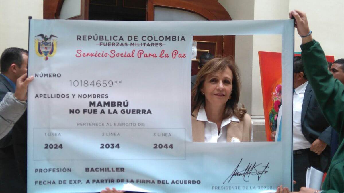 #NoSirvoAlaGuerra una apuesta contra el servicio militar obligatorio