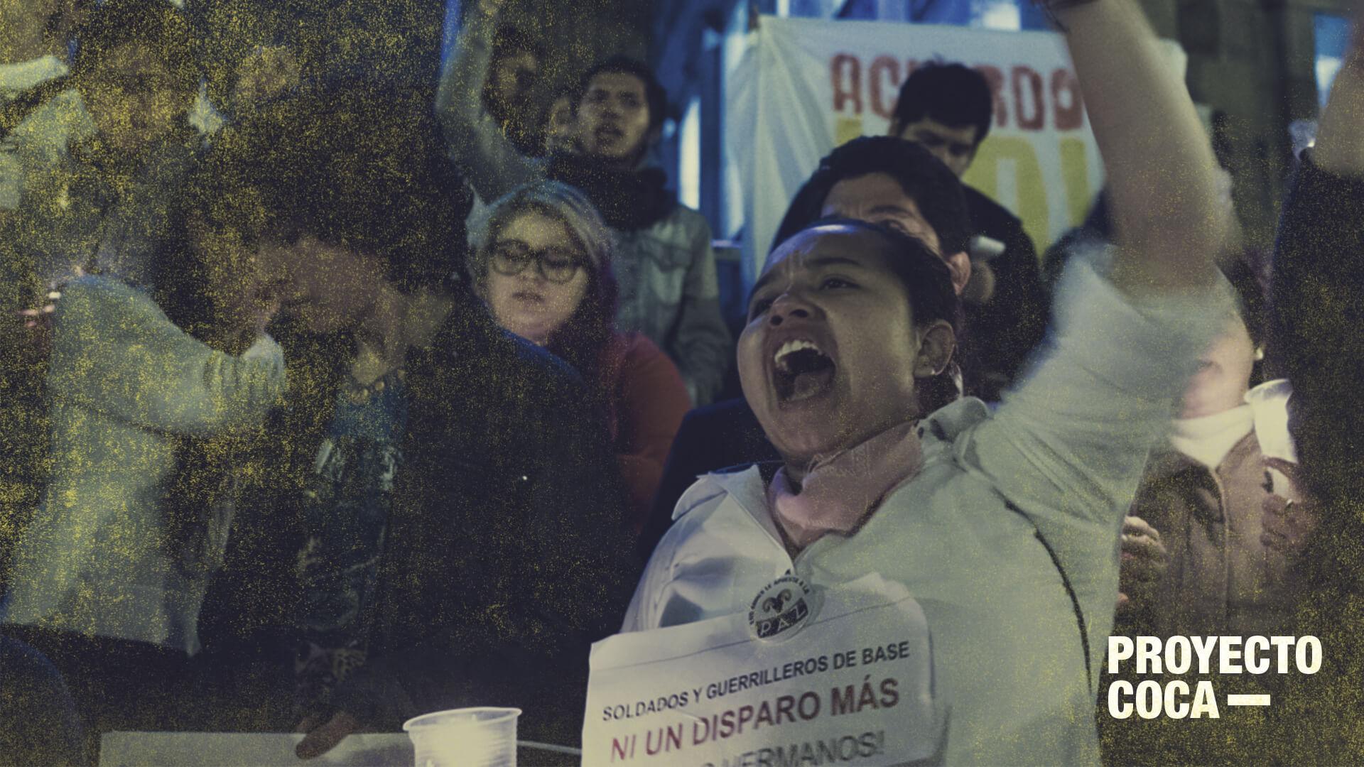 De cocaleros a pilotos: hoy Colombia protesta más