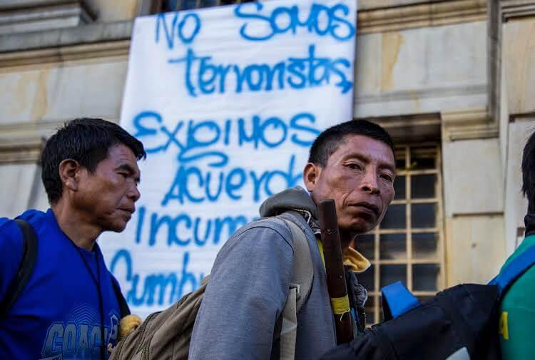 Colombia es el país donde matan más defensores de DDHH