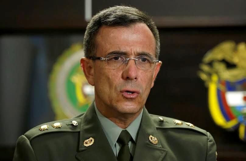 Las claves del director de la Dijín para entender el tráfico de armas en el país