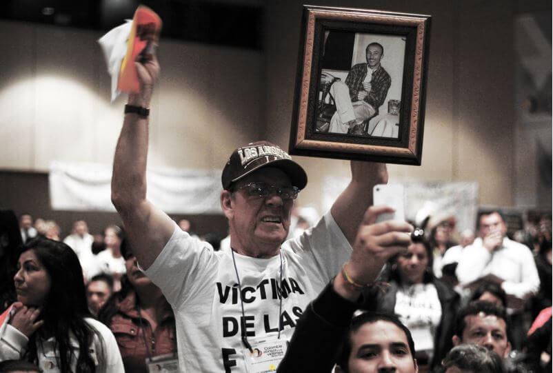 """Estas son las víctimas que apostaron por el """"NO"""" y que exigen renegociar el Acuerdo"""