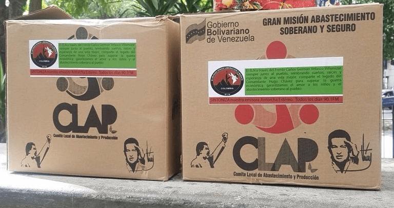 Comida para venezolanos en la frontera, ¿en manos del ELN?