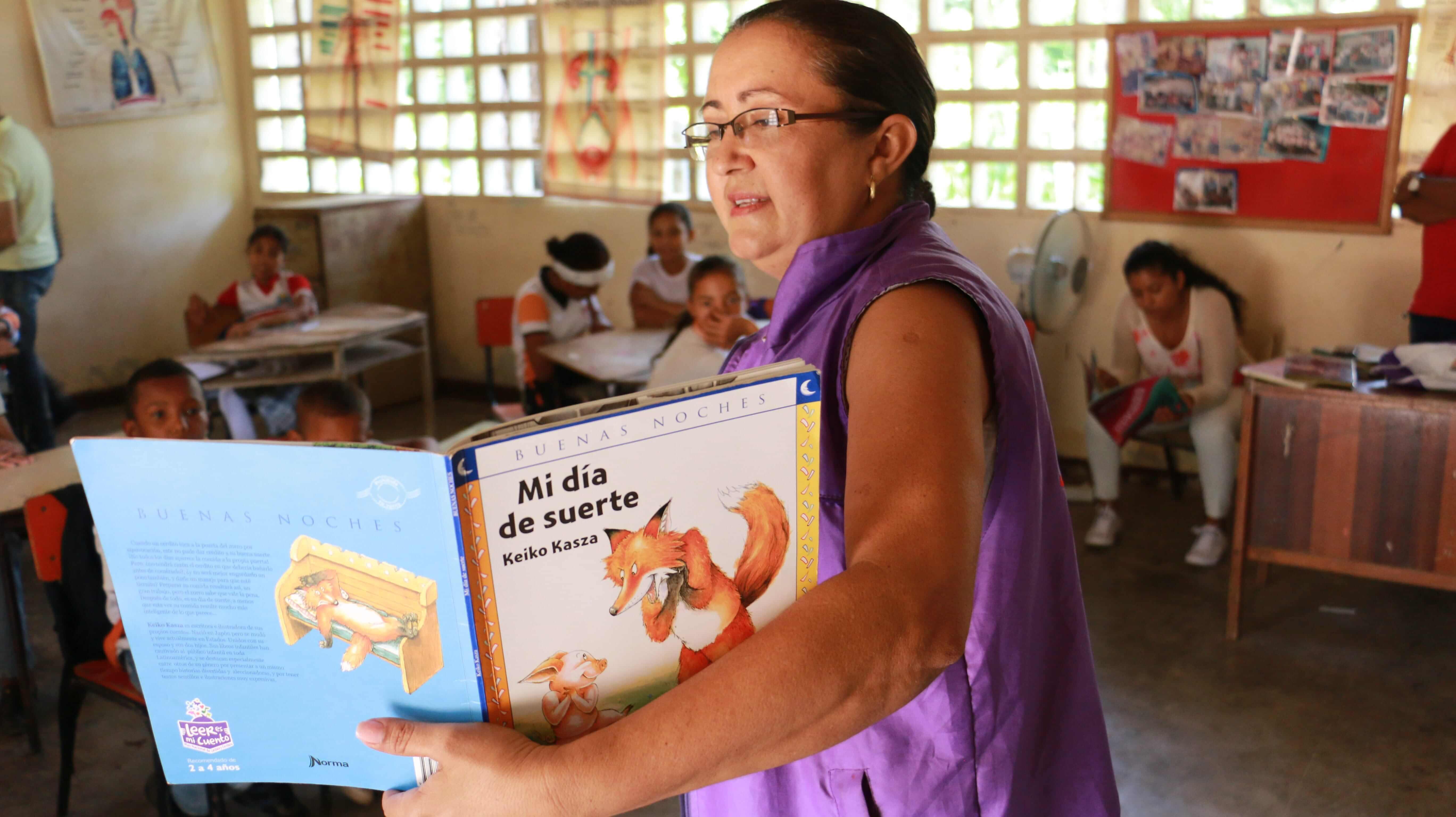 En La Guajira, la paz empieza en una biblioteca