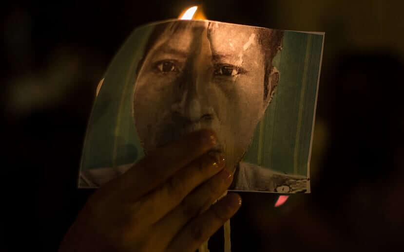 """""""Que nos maten luchando, no huyendo"""", gritan los indígenas Nasa en el Cauca"""