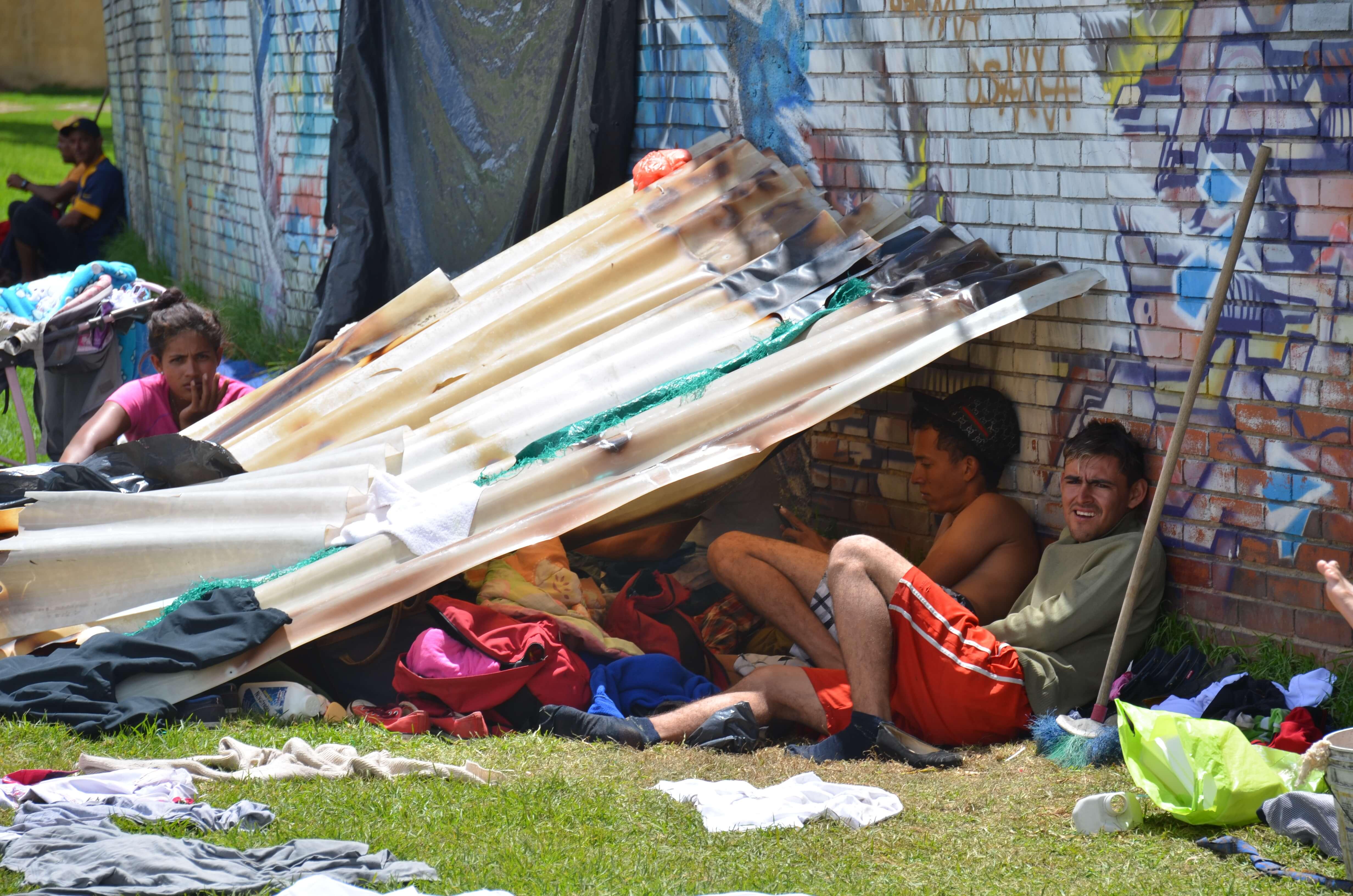 Así es la vida en La Terminal de los venezolanos