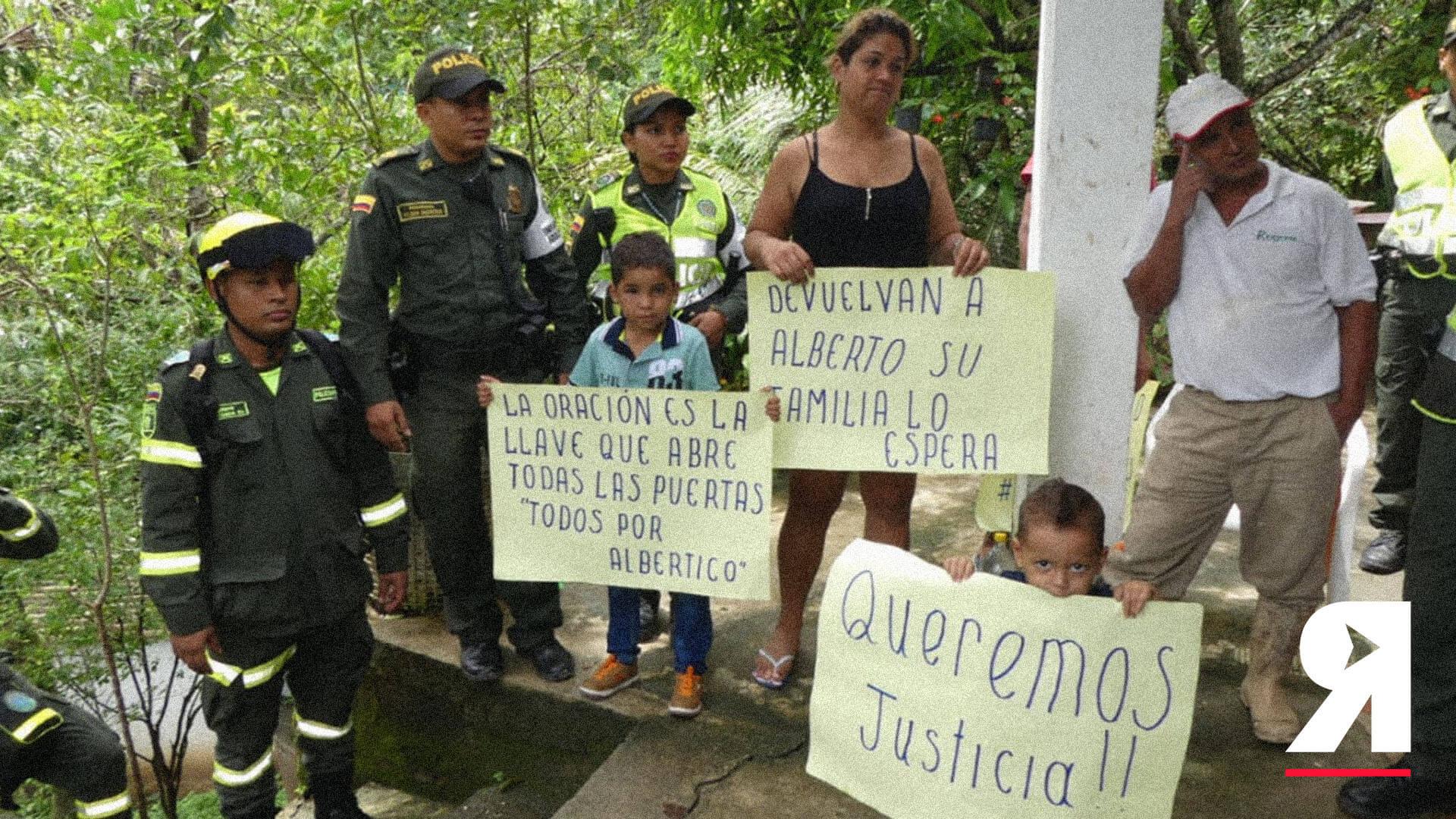 Alberto Cardona Sanguino, el otro niño desaparecido del que nadie habla
