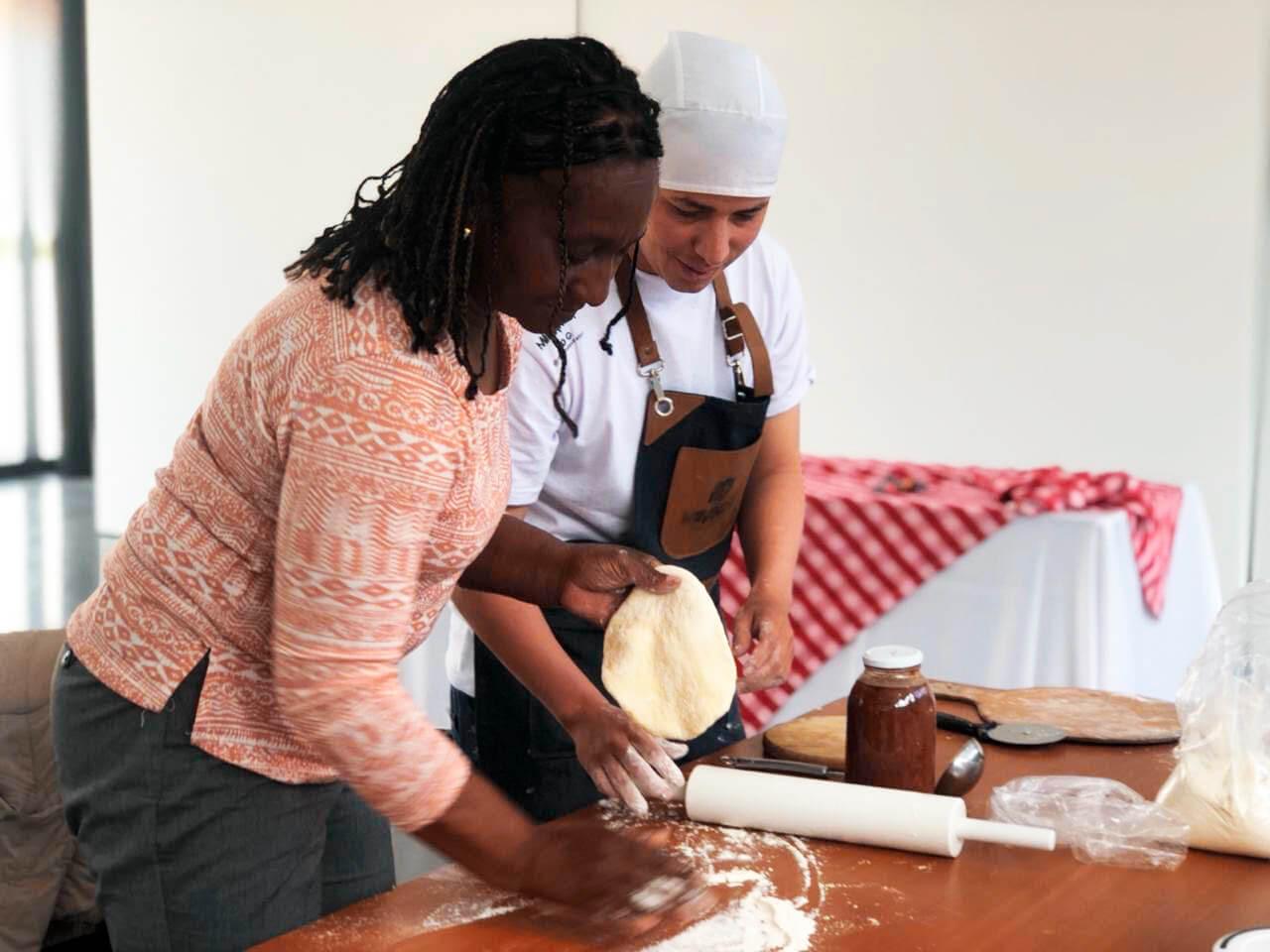 Las víctimas del conflicto tienen su espacio en pizza master
