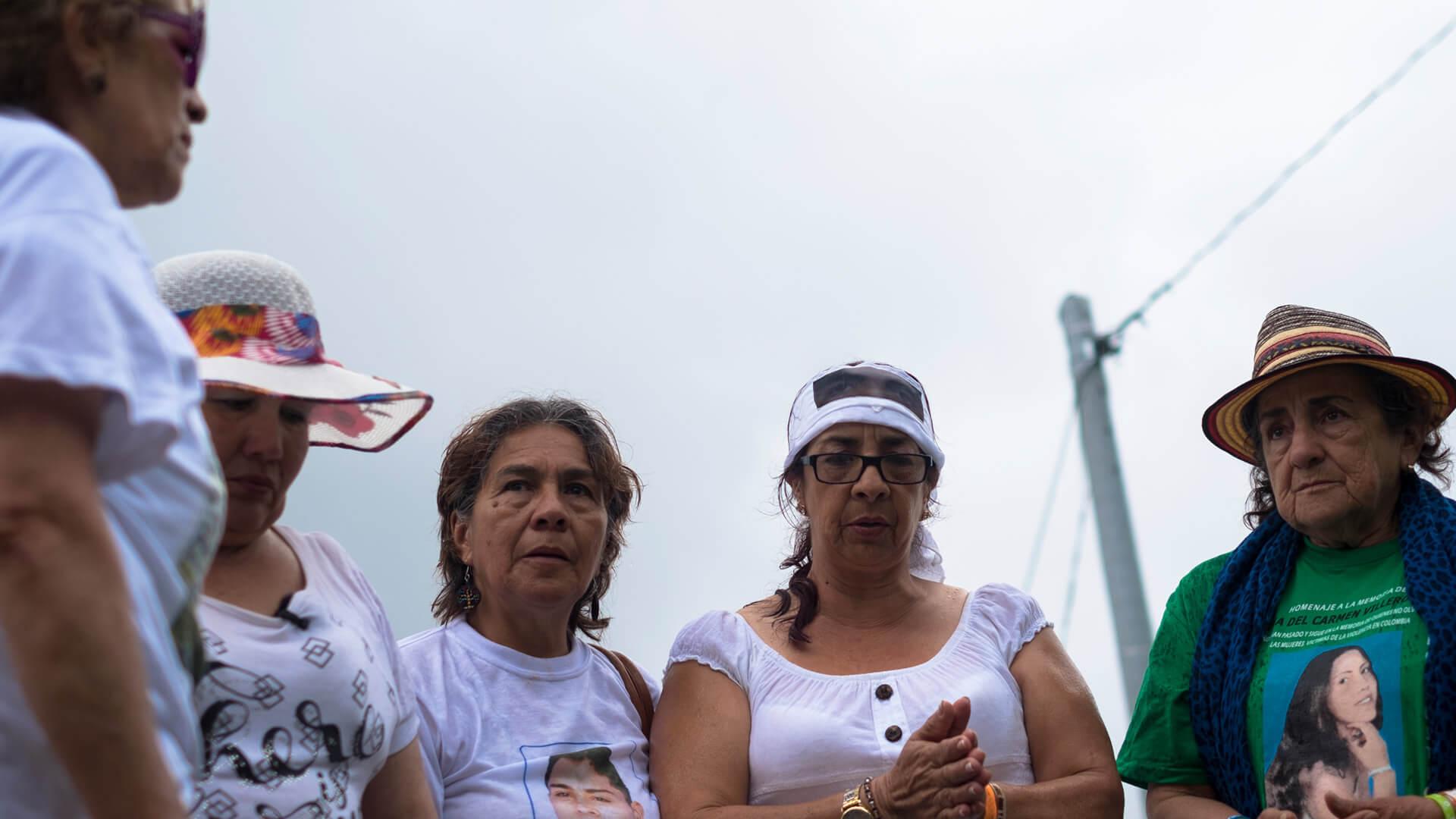 Las Madres de Soacha y su viaje de catarsis a Ocaña