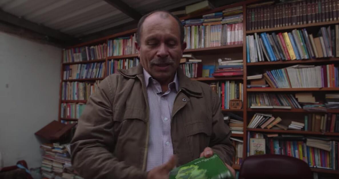 ¡Pacifista! presenta: Biblioteca paraíso