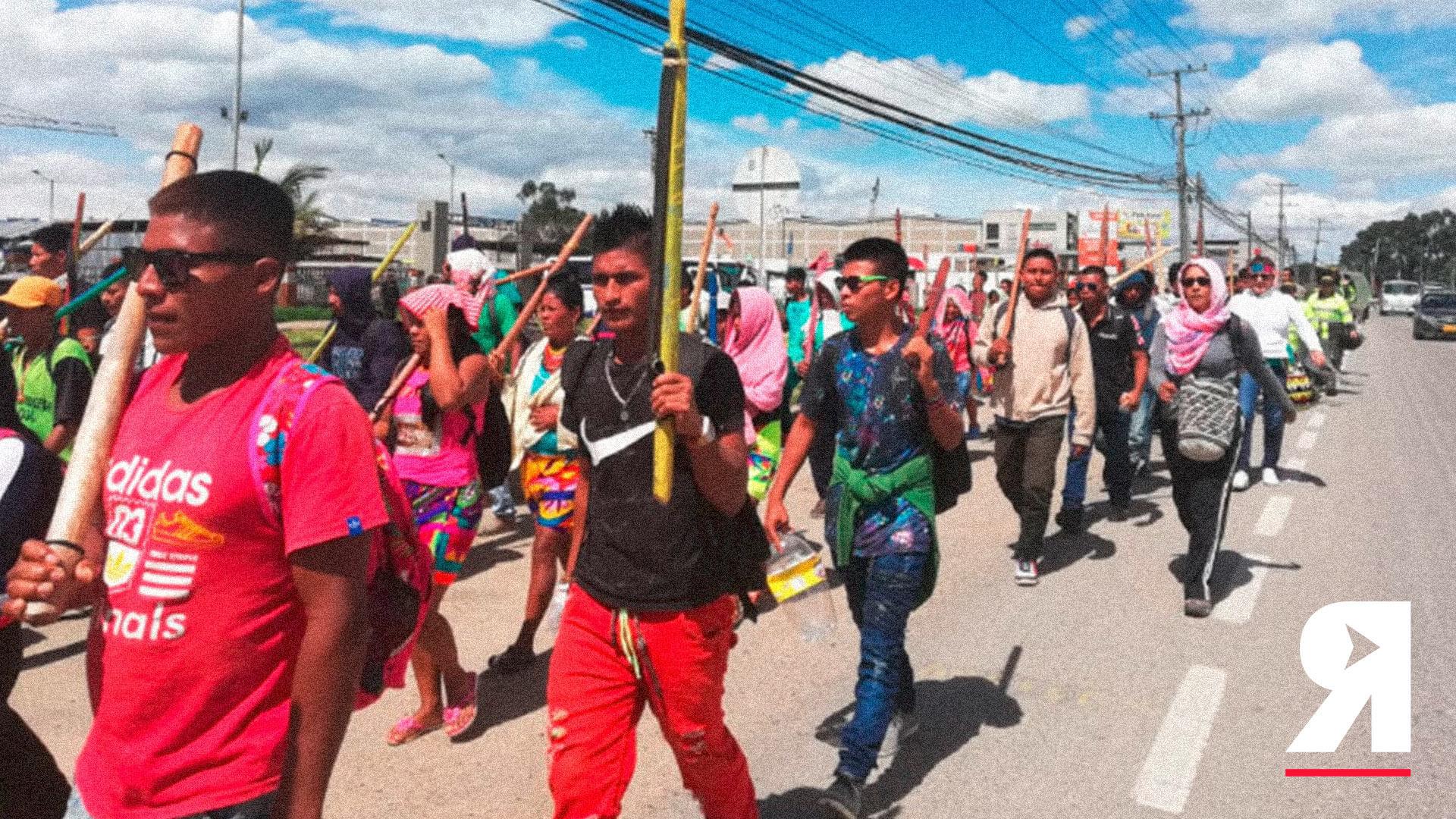 """""""No aguantamos más"""": el grito de la minga indígena de Chocó"""