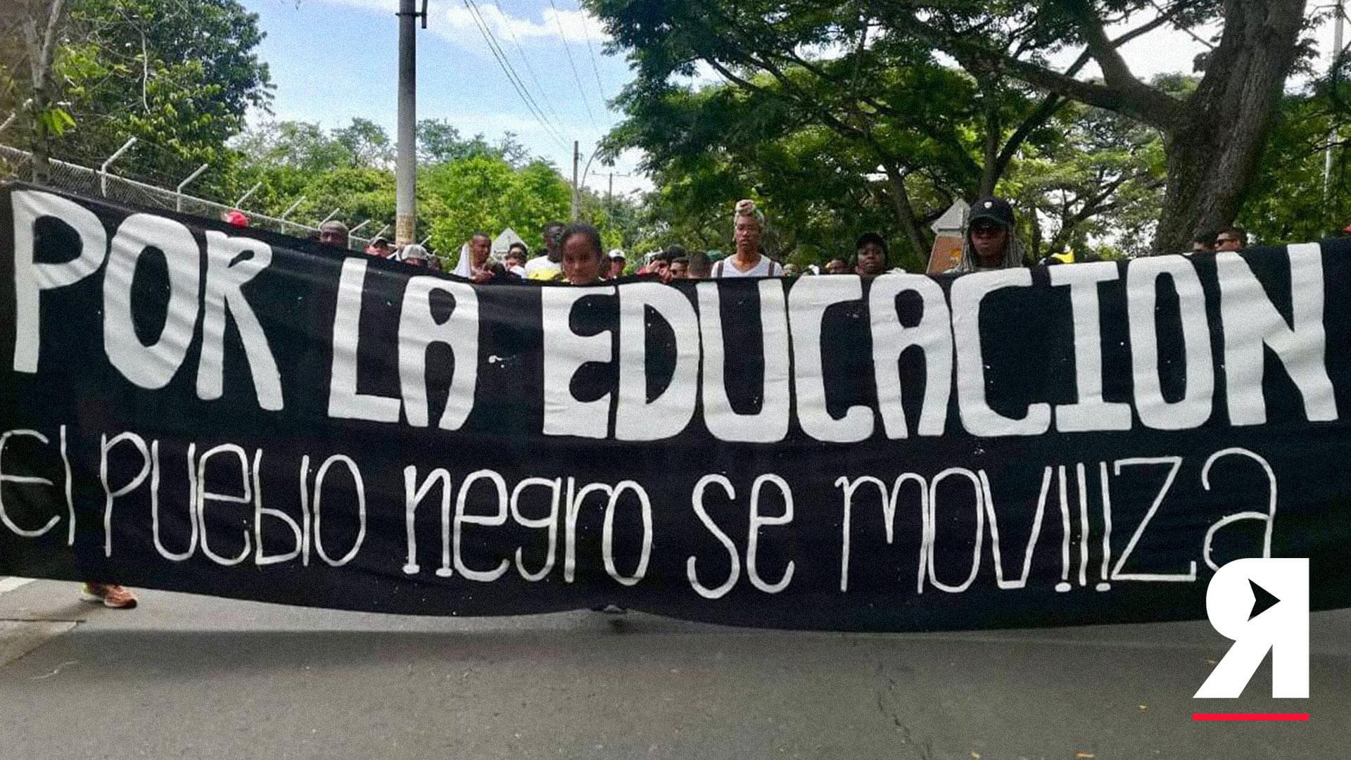 """""""A ustedes en Bogotá por lo menos los escuchan"""": estudiantes afro e indígenas"""