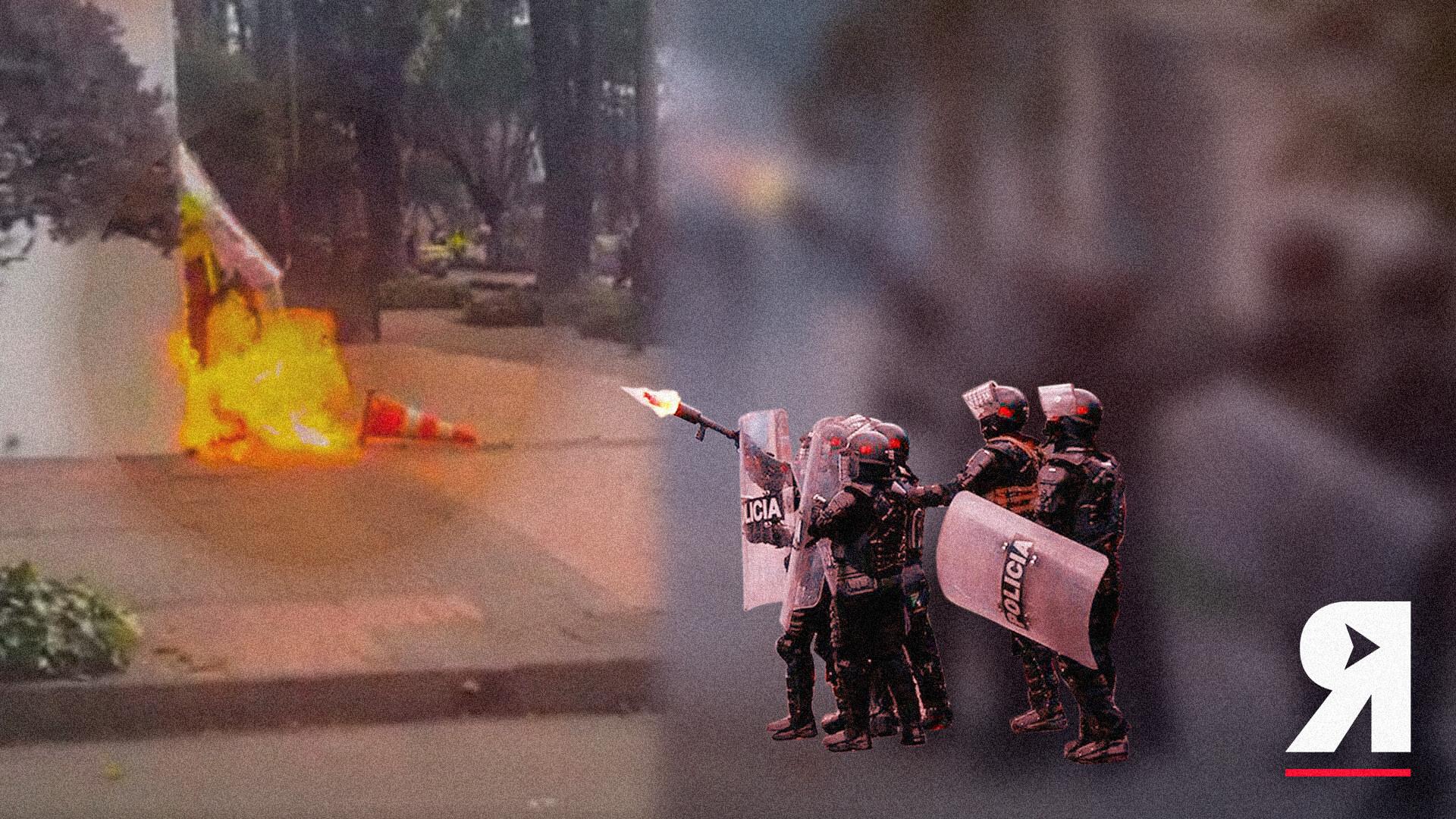 Violencia policial y de encapuchados: el desmán lo pagamos los ciudadanos de a pie