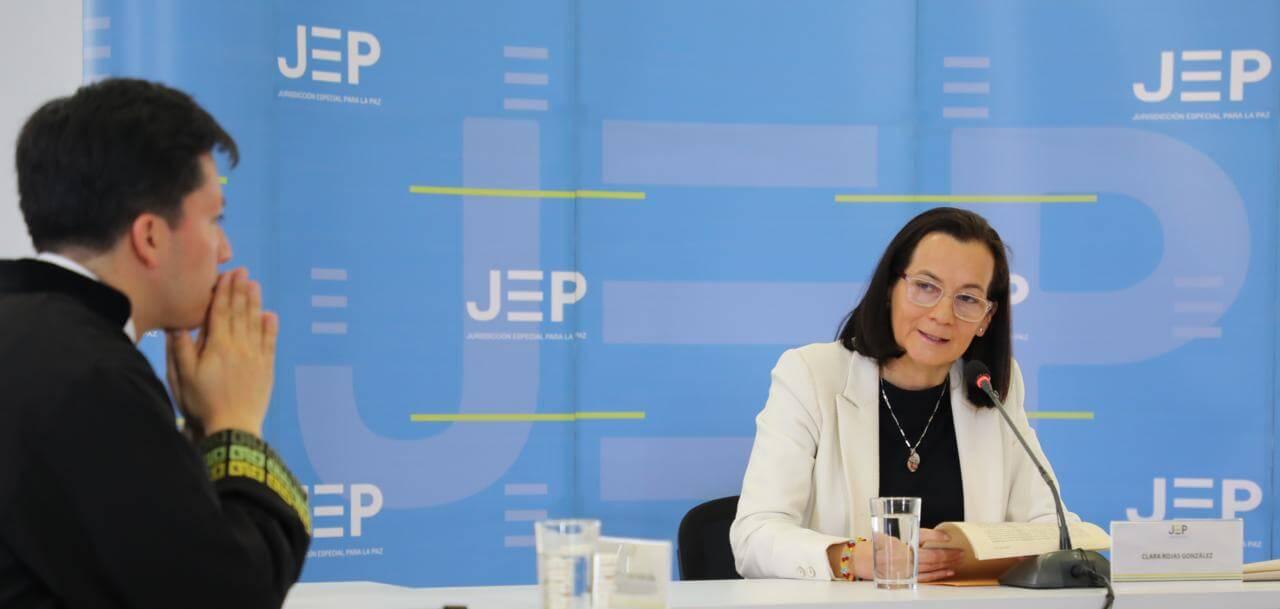 'En mi caso, los periodistas perecían mercaderes del dolor': Clara Rojas en la JEP