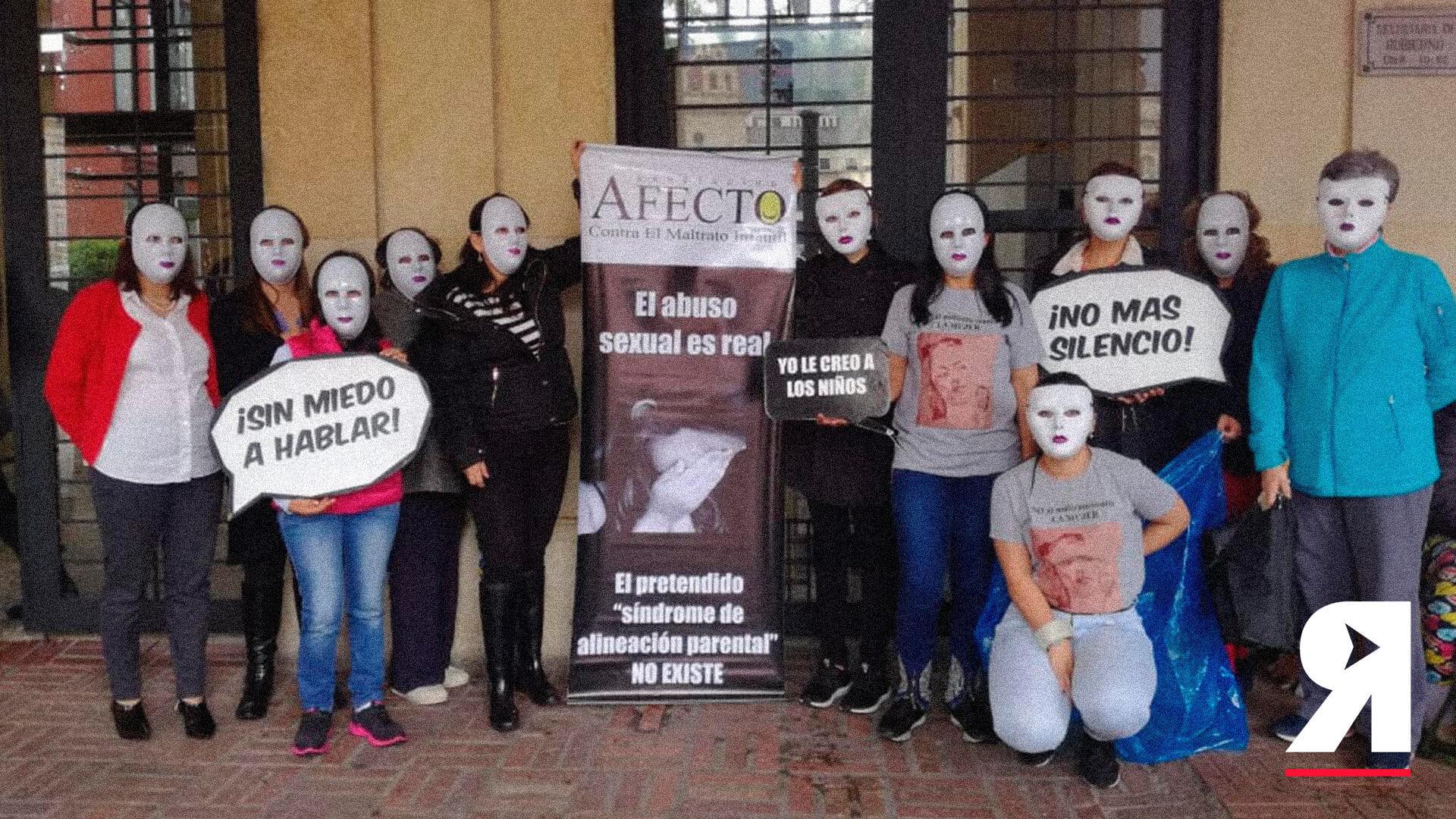 """""""No somos locas por denunciar el abuso sexual contra nuestros hijos"""": Madres sin Rostro"""