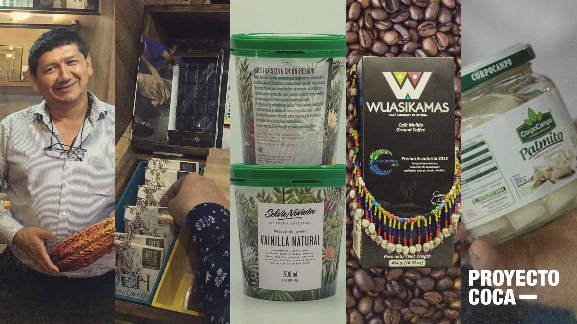 Esta Navidad regale productos que ayudaron a dejar atrás la coca