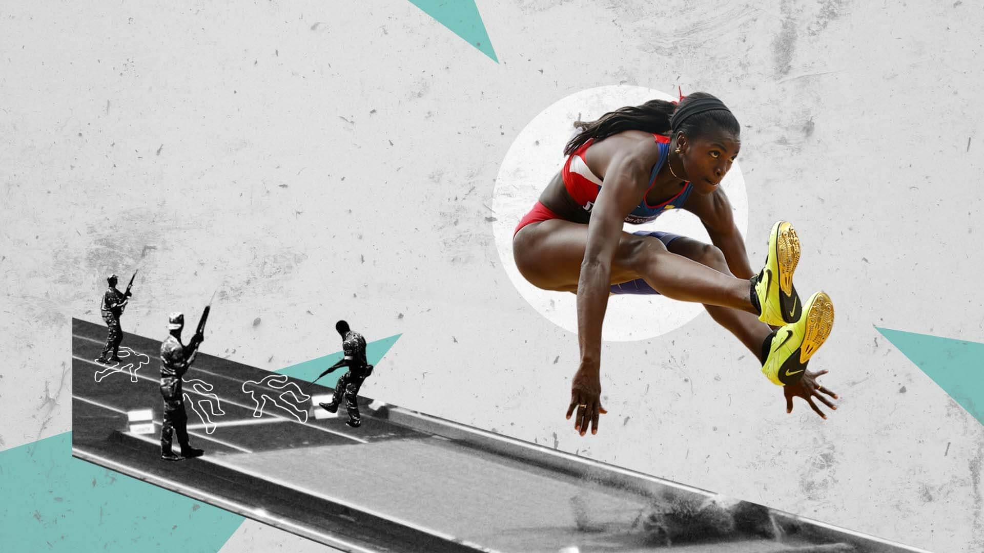 Caterine Ibargüen, la atleta que pudo volar por encima de la violencia