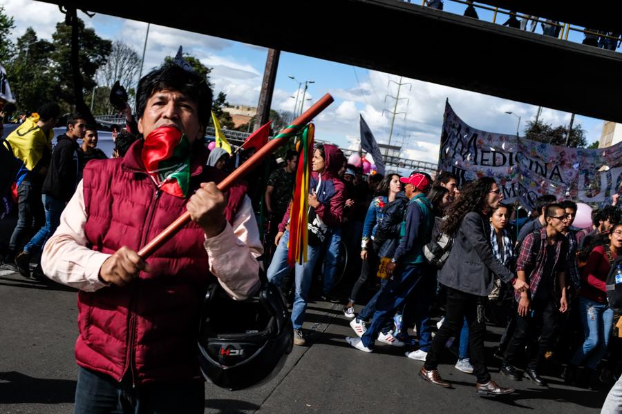 La protesta seguirá en pie: así fue la última marcha estudiantil de 2018