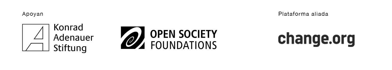 Banner, artículos, KAS, ChangeOrg, OpenSociety