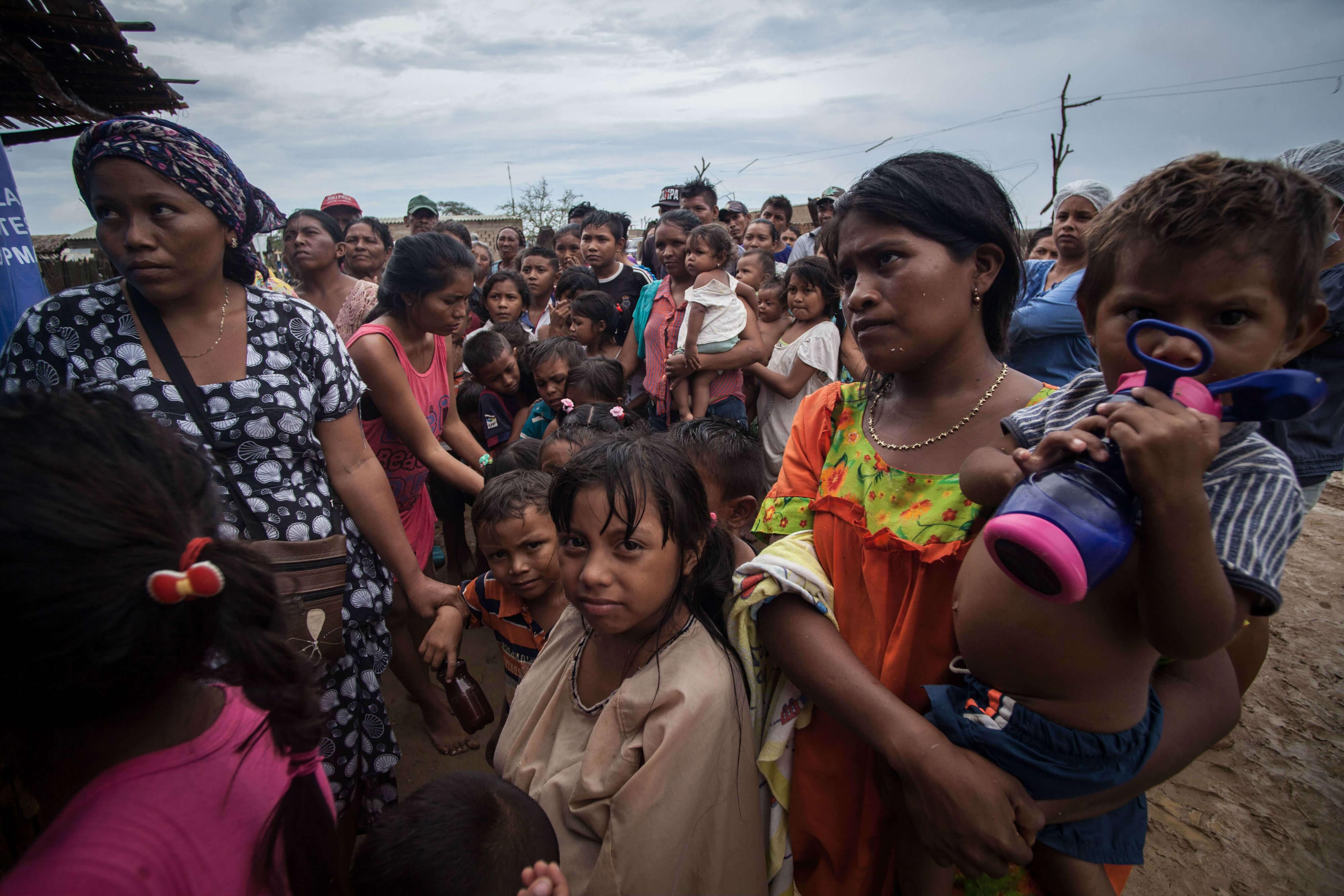 La migración wayúu aumenta la presión en La Guajira