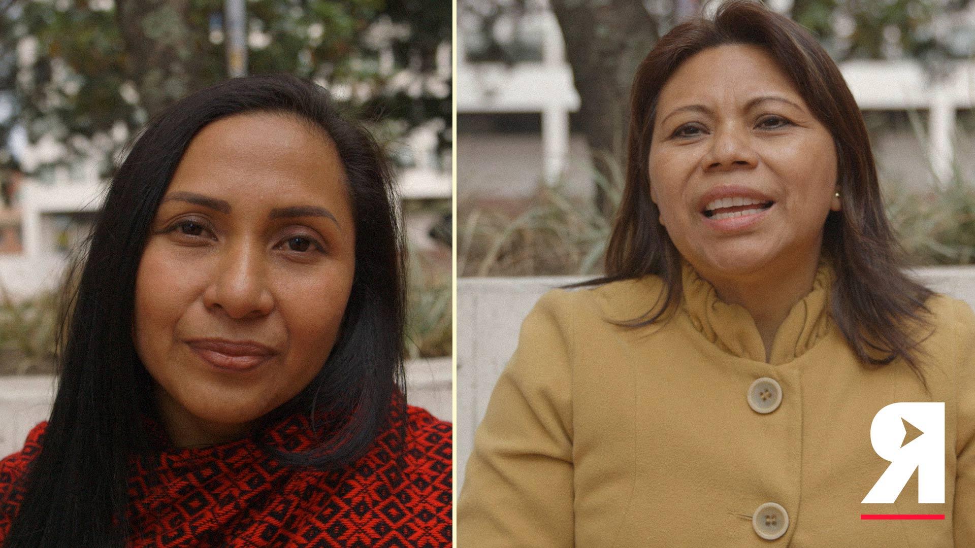 'Estamos dejando morir al Amazonas': estas son las palabras de dos líderes indígenas