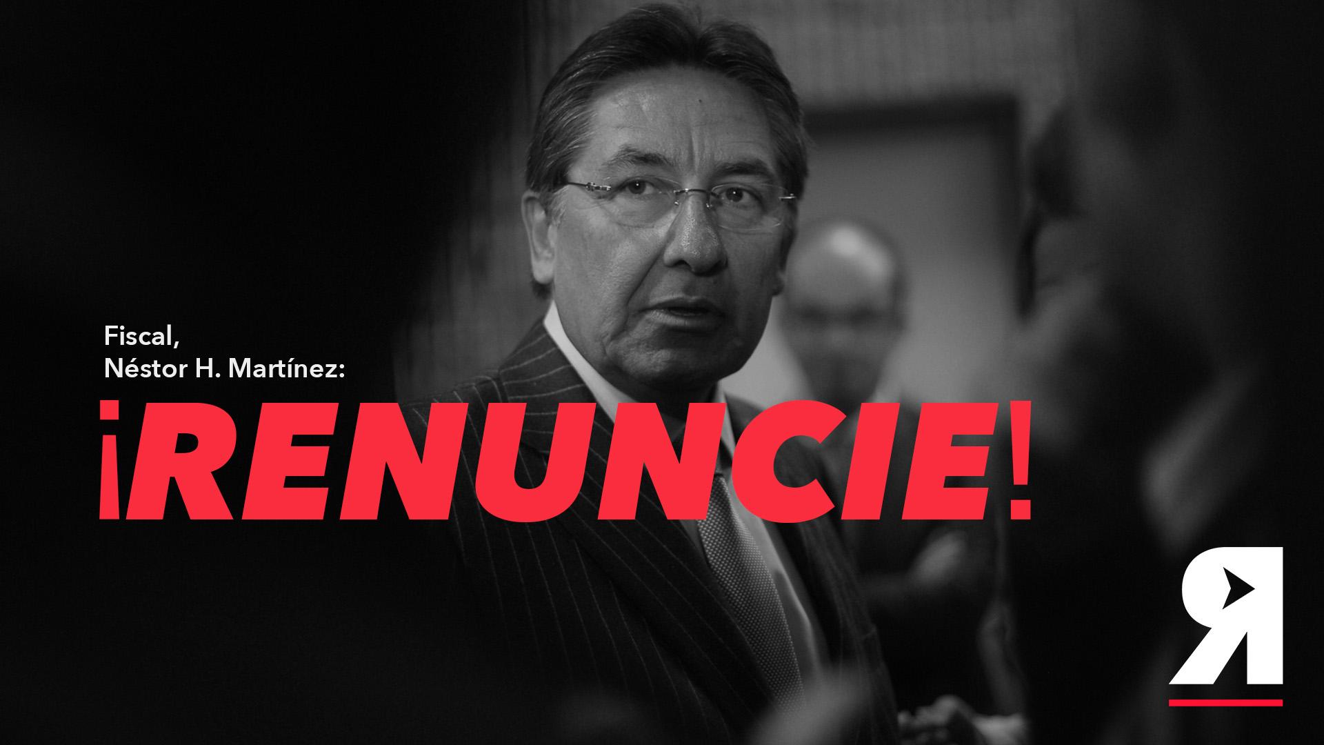 Así será la manifestación que pedirá la renuncia del fiscal Martínez