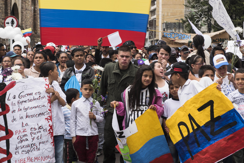 Galería: Así fue el grito de hoy por la paz de Colombia