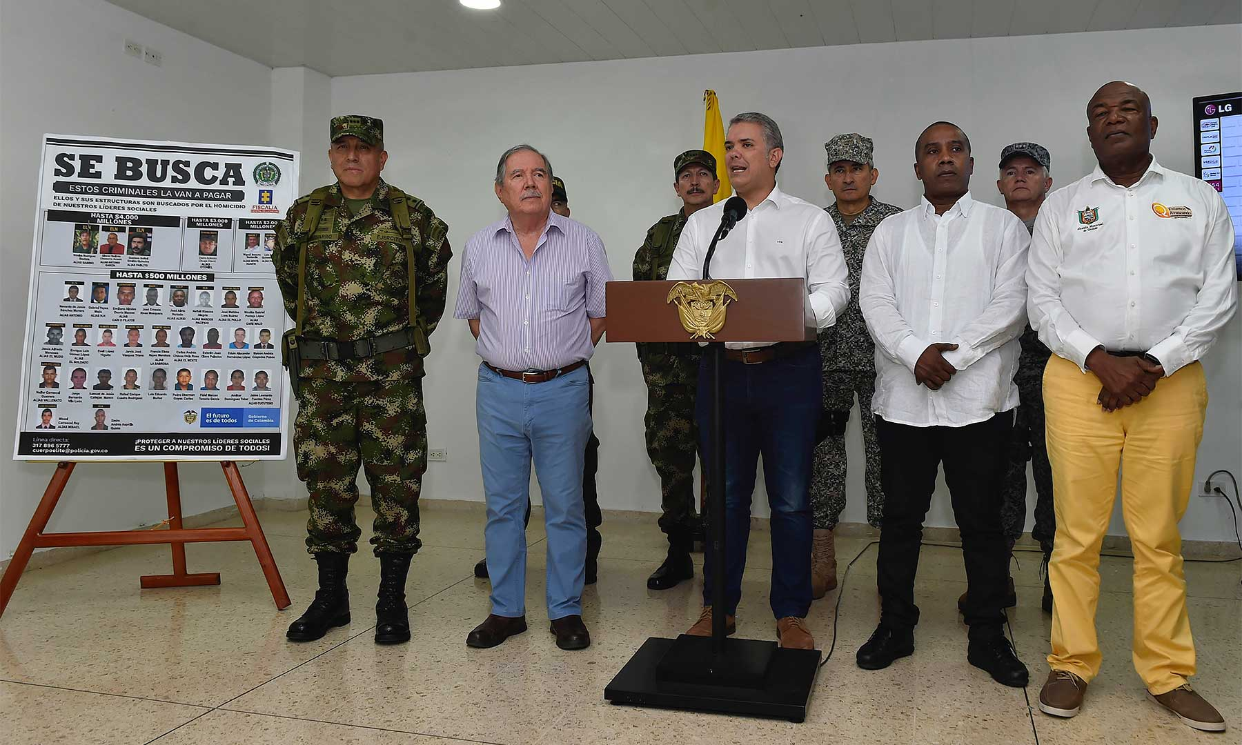 """Iván Duque lanzó un plan contra el """"cartel matalíderes"""", ¿por qué se equivoca?"""