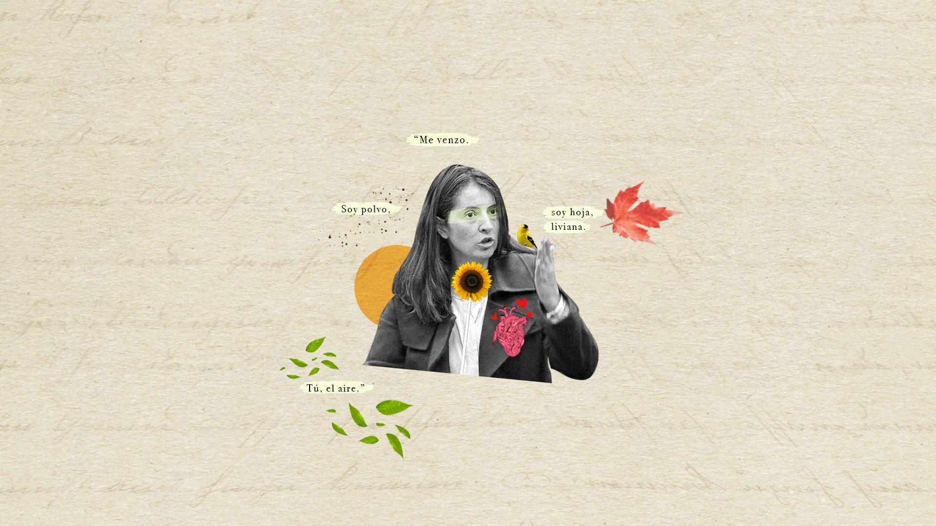 Me sumergí en el blog de poesía de Paloma Valencia