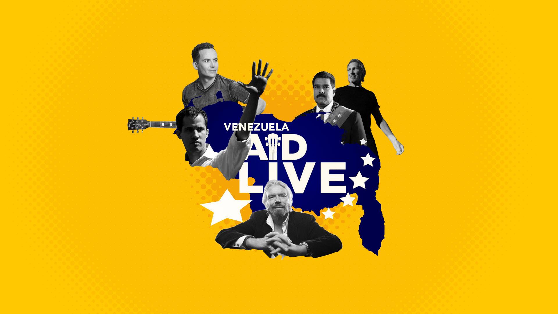 Venezuela Aid Live y Hands off Venezuela: la política vuelve a la música