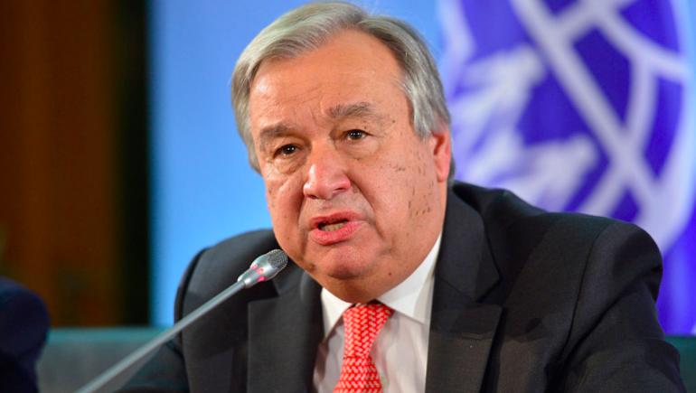'Pido que se adopten medidas para evitar nuevos asesinatos de líderes': Secretario General de la ONU