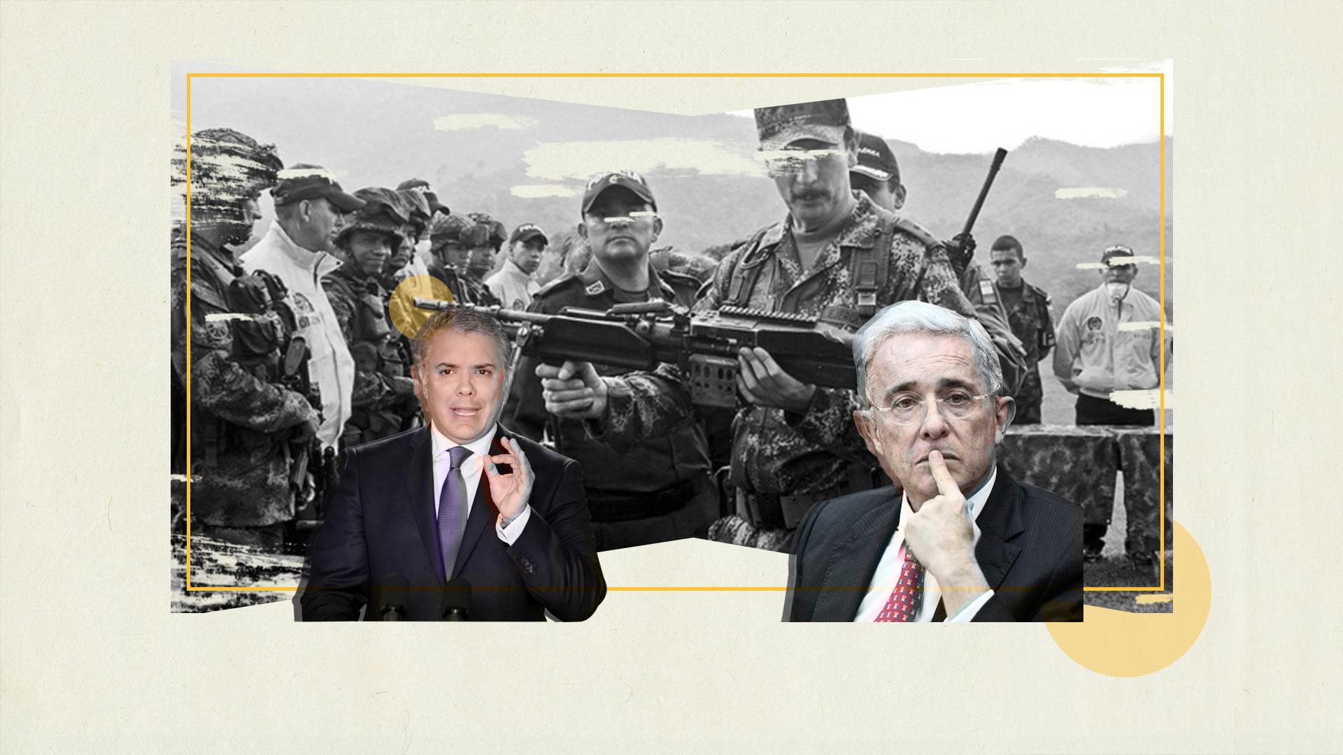 ¿Amnistías para los paras y mano dura para las Farc?: la doble moral del uribismo