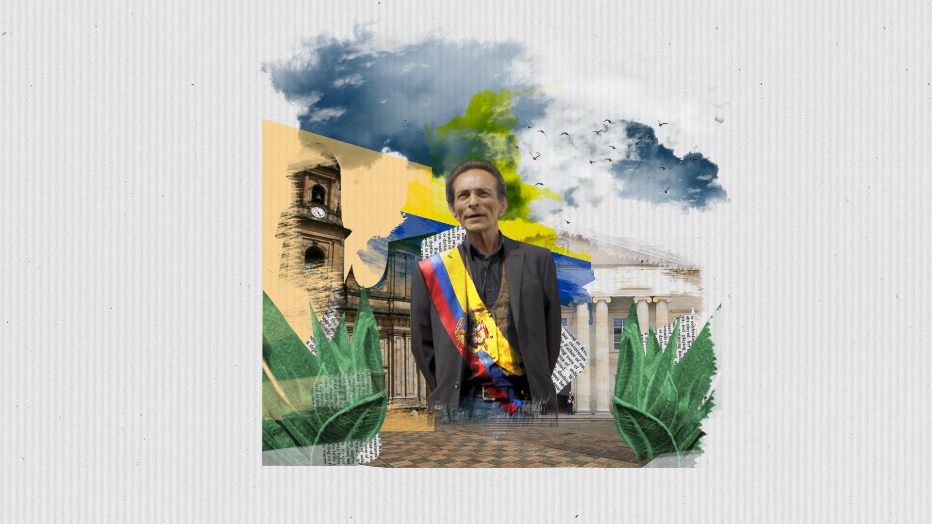 Así fue nuestra charla con el autoproclamado presidente interino de Colombia