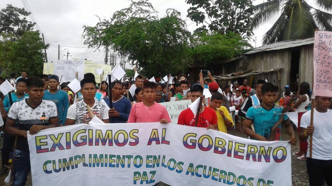 'Por culpa de la violencia, la comunidad de Chocó sí sabe lo que es el viacrusis de Cristo'