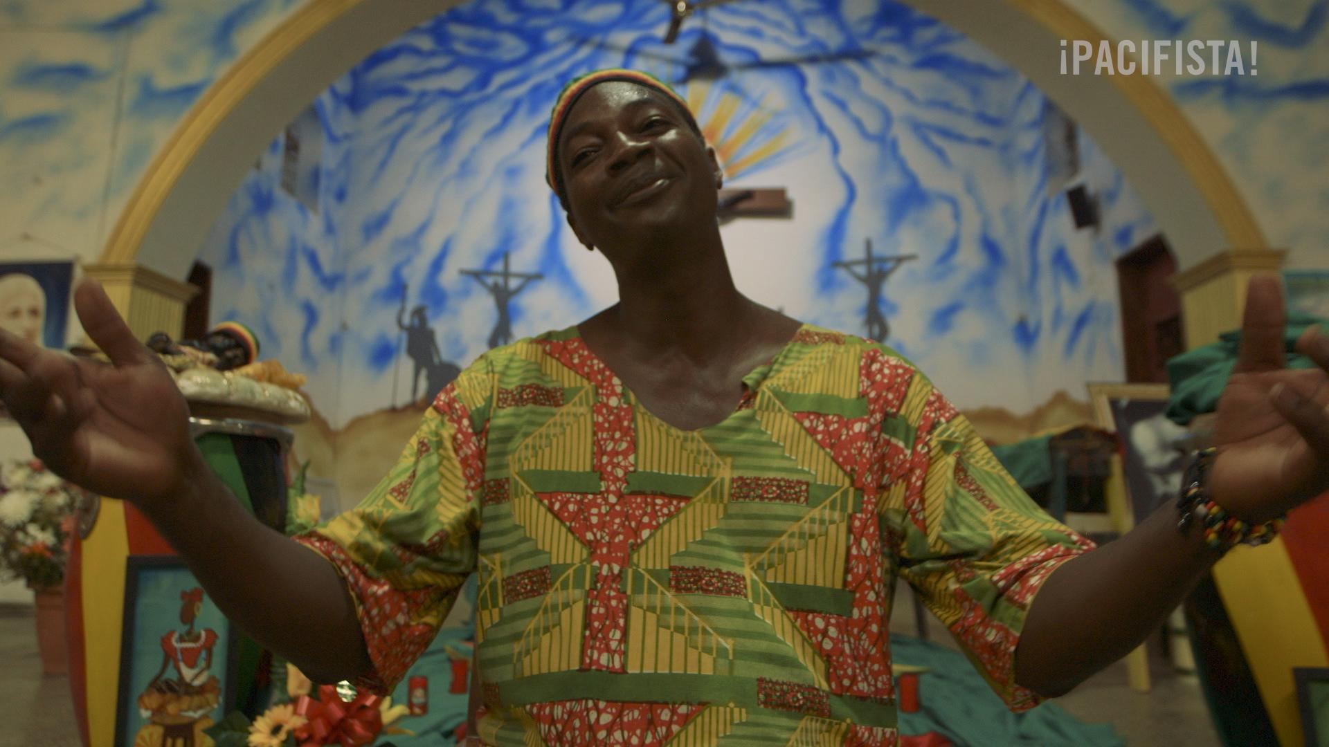 ¡Pacifista! presenta: Dios es negro