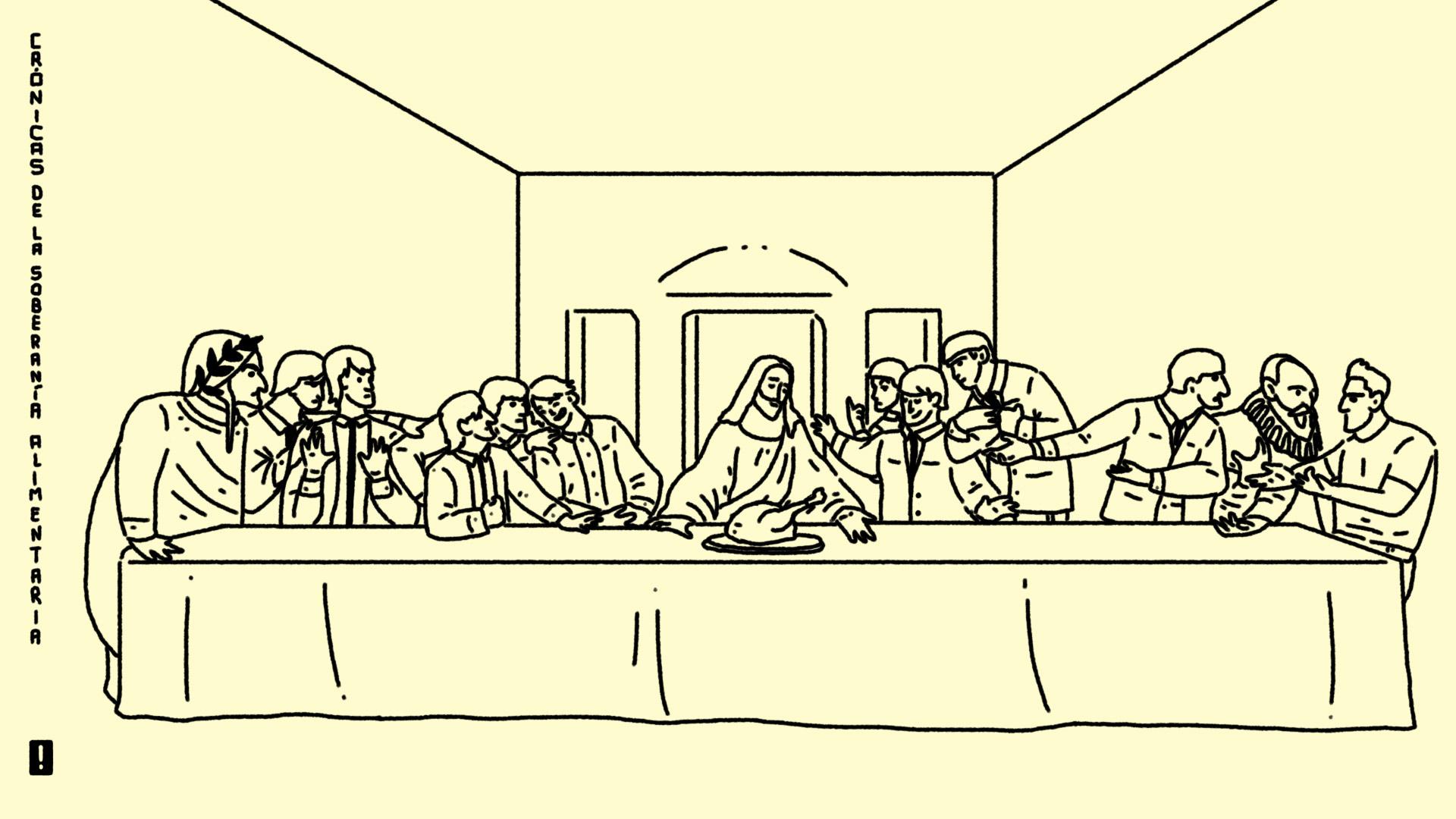 ¿Por qué carajos nos clavaron a Jesús en el himno?
