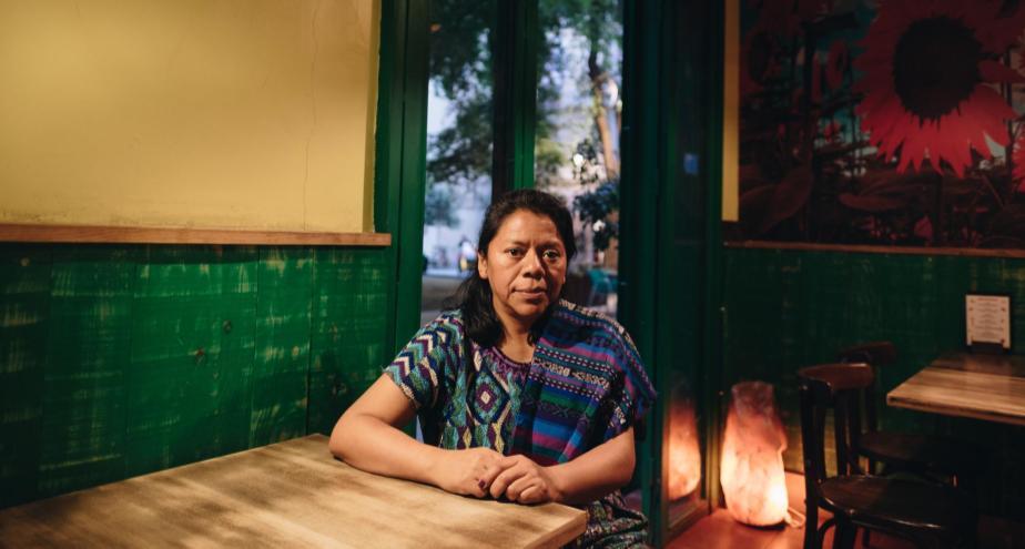 'Lucho porque el territorio sea libre y no siga manchado de sangre': Lolita Chávez