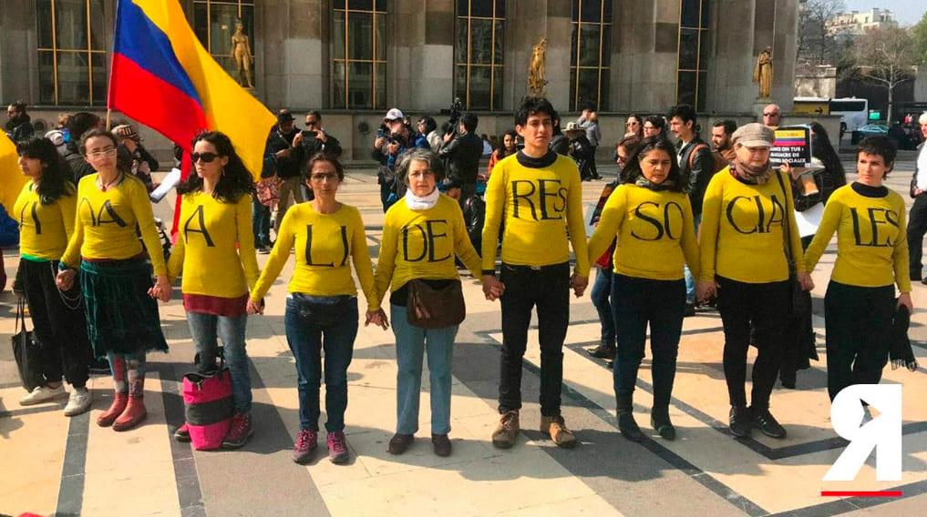 'Que el mundo se entere de que en Colombia matan a quienes resisten en los territorios'