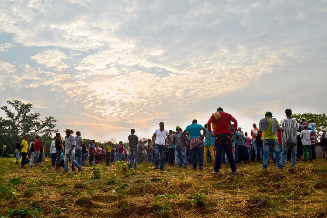 'El gobierno y el país nos están dando la espalda': campesinos del sur de Córdoba
