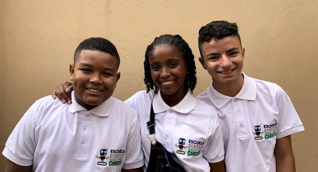 Ellos son los niños del Chocó que representarán a Colombia en el mundial de robótica