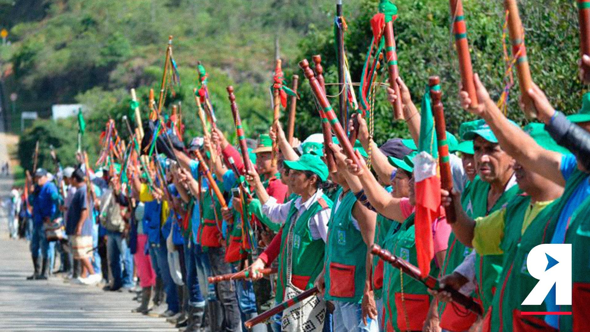 Si se quiere sumar a la Minga desde Bogotá, hoy es el día