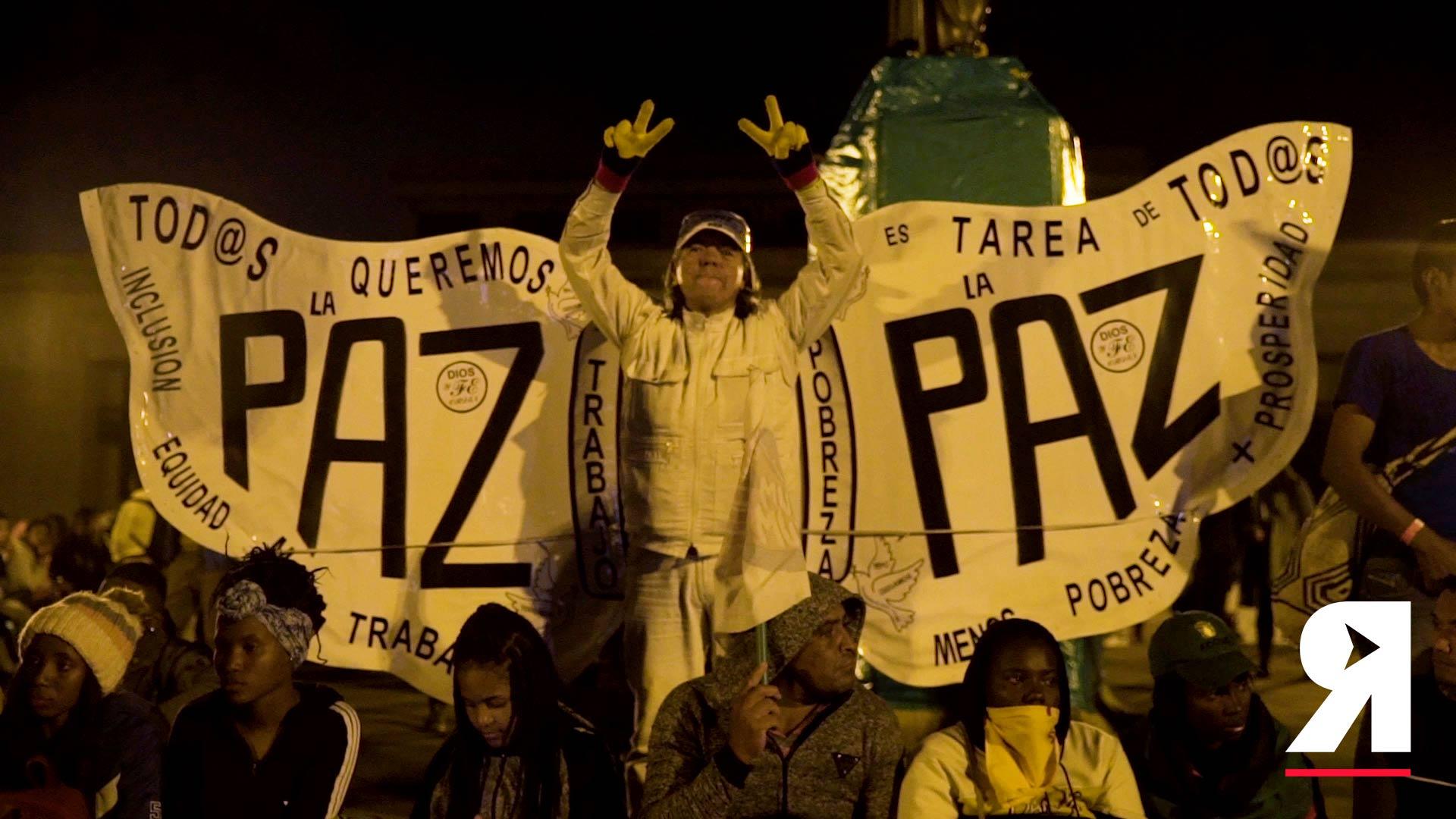 'El proceso de paz sacó la guerra, pero quedó la pelea por la tierra': el grito de los líderes en Bogotá