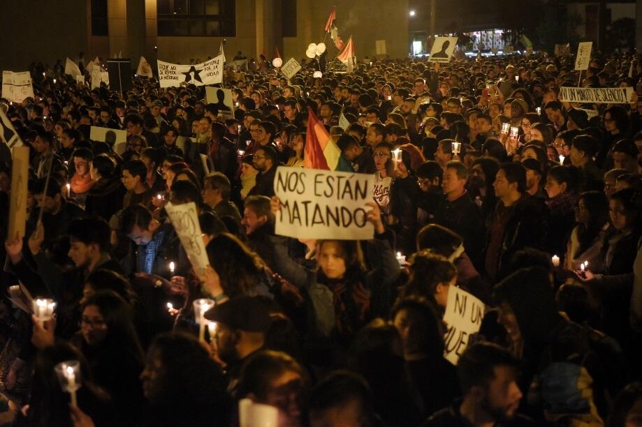 Todo listo para que más de 3.000 líderes sociales lleguen a Bogotá el fin de semana