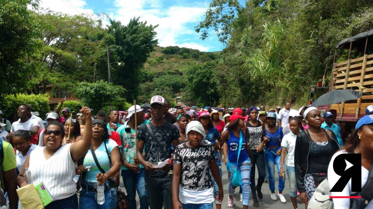 Hoy más que nunca en el Cauca: ¡Los afro no se rinden carajo!
