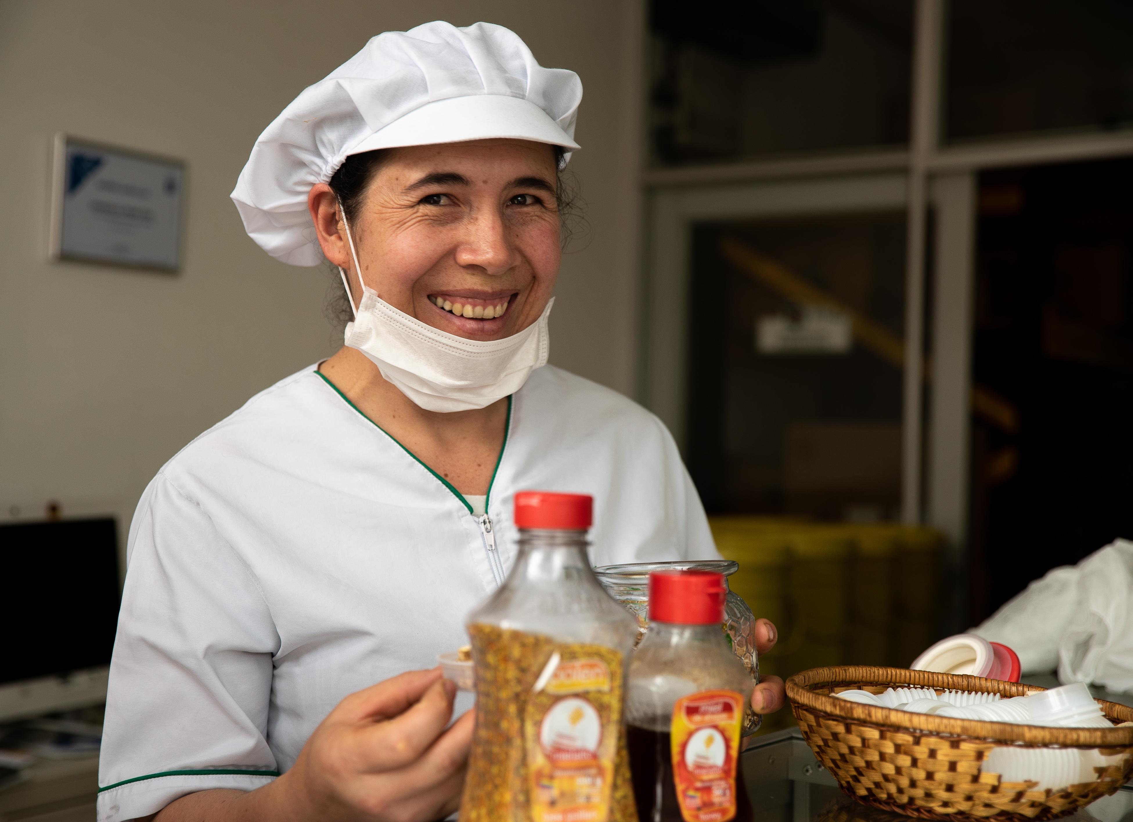 Producion de miel