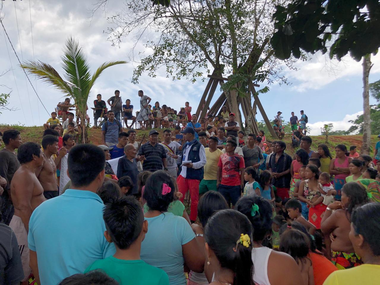 En video: indígenas de Chocó están confinados por guerra entre AGC, ELN y Ejército