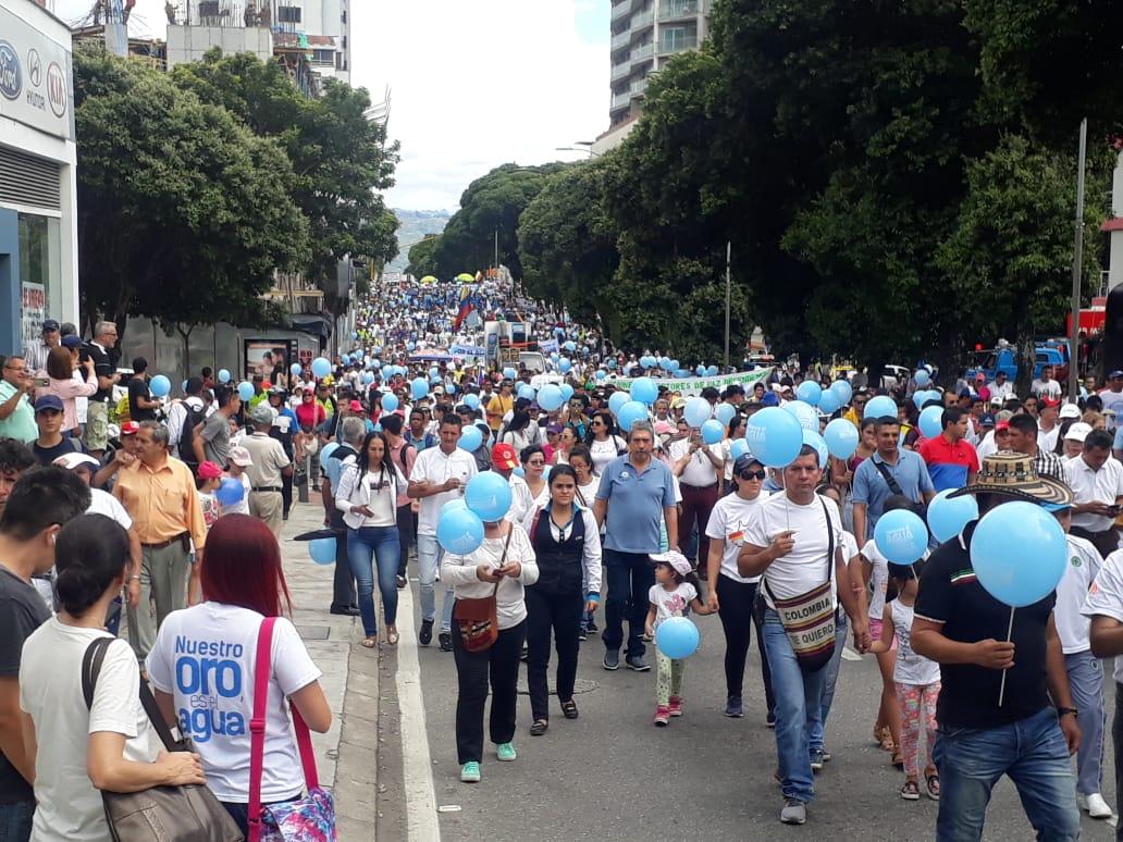 'Queremos agua, no oro': comienza una nueva era de protestas en Santurbán