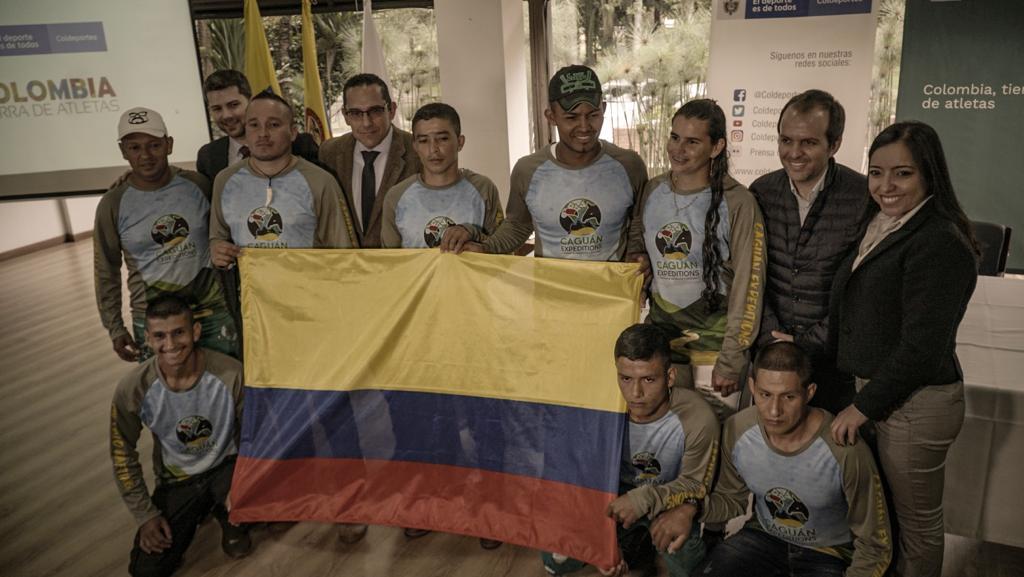 Es oficial: cinco excombatientes de las Farc nos representarán en el mundial de rafting