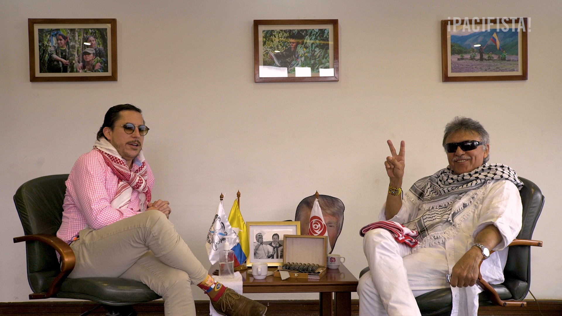 Juanpis González entrevista a Jesús Santrich