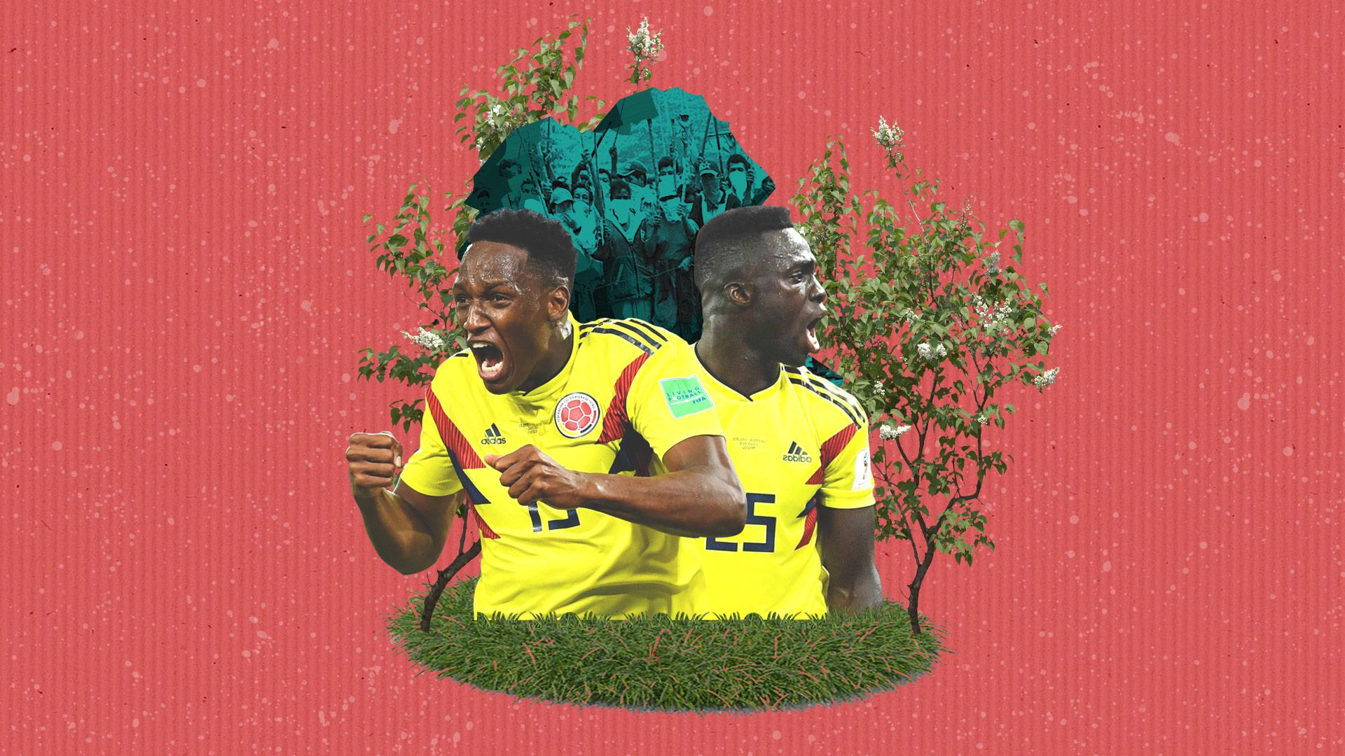 Yerry Mina y Dávinson Sanchez: del norte del Cauca para el fútbol